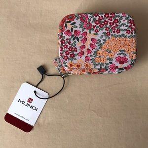 Mundi pillcase floral print zip travel case 8